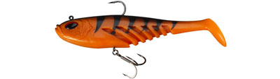 Przynęta Berkley Powerbait Flat Giant - Orange Black