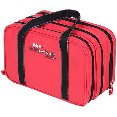 Torba D.A.M Steelpower ® Red Water Repellent Lure Case